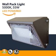 Westek Sw103ct Outdoor Swivel Photo by 55w Wall Pack Led 6238 Lumens Led Powered Outdoor Wall Pack