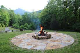 Rock Firepit Pits Fireplaces Hammerhead Stoneworks Asheville