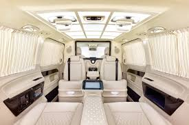 v class luxury van klassen luxury vip vans cars bus