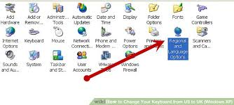 us international keyboard layout pound sign how to change your keyboard from us to uk windows xp 6 steps