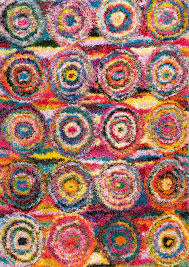 Area Rugs With Circles Intricate And Full Of Pop With Rugs Usa U0027s Radiance Abstract