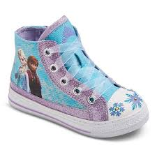 disney store frozen elsa light up shoes disney girls frozen light up high top sneakers purple