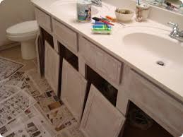 how to paint bathroom cabinets white painting bathroom cabinet