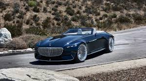mercedes vision mercedes maybach 6 cabriolet luxury of the future