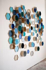 einfache wandgestaltung deko ideen mit hexagon motiven fürs interieur 20 inspirationen