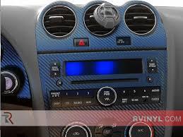 Nissan Altima Blue - nissan altima coupe 2007 2013 dash kits diy dash trim kit