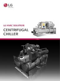 lg centrifugal chiller manual heat exchanger gas compressor