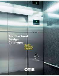 Architecturals by Architectural Design Catalogue Otis Pdf Catalogue Technical