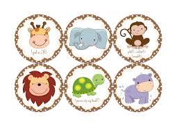 unique jungle baby shower clip art pictures free vector art