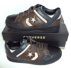 converse men u0027s leather casual shoes ebay