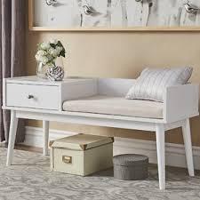 mid century modern storage benches you u0027ll love wayfair