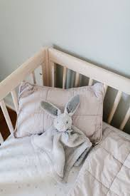 Blush Crib Bedding by Oh Baby Cozy Crib Essentials From Parachute The Effortless Chic