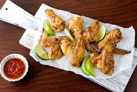 Main Dish Chicken Recipes - gluten free nut free thai chicken wings recipe