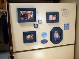 mini magnetic picture frames crafty nest