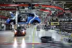 bmw factory assembly line opel eisenach thuringia germany plant gm authority