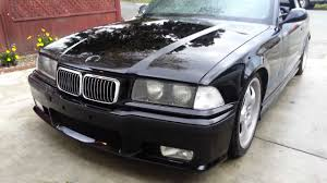 bmw e36 325ic hood and bumper painted using dupli color paint