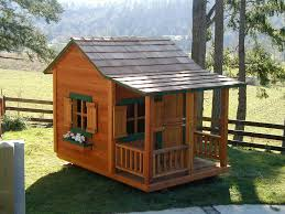 outdoor playhouse with slide outstanding wooden castle tower