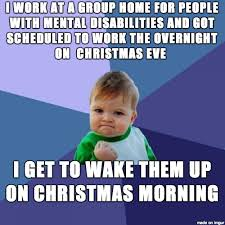Christmas Day Meme - i consider myself lucky to be working christmas day meme guy