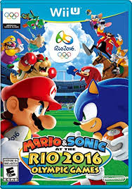 amazon wii u games black friday amazon com mario u0026 sonic at the rio 2016 olympic games wii u