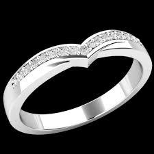 palladium engagement rings wishbone style diamond set wedding eternity ring in palladium