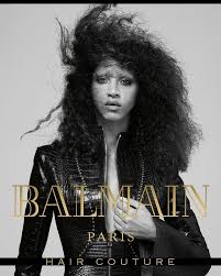 balmain hair stylenoted balmain hair couture goes with texture for f w
