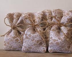 burlap wedding favor bags burlap favor bags100 pc rustic wedding favor bag by myrusticdream