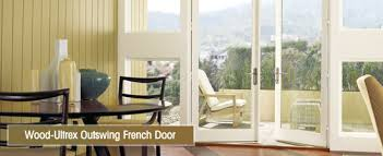 Out Swing Patio Doors Integrity Wood Ultrex Outswing Door