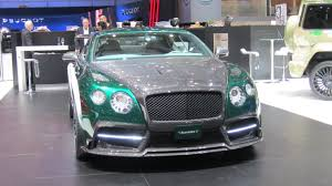mansory bentley mulsanne mansory bentley gt race youtube