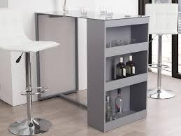 table bar rangement cuisine table haute cuisine avec rangement maison design bahbe com bar de