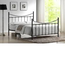 spa sensations steel smart base bed frame black multiple sizes