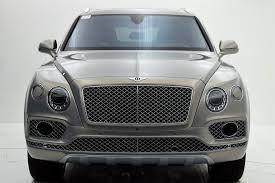 bentley bentayga silver 2017 bentley bentayga w12