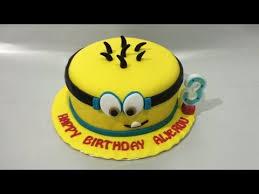 minion cake fondant how to make easy youtube dulces y tortas
