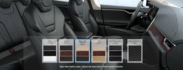tesla model 3 interior seating tesla is bundling its interior options for model s after