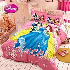 Princess Duvet Cover Kids Disnep Cartoon Bedding For Boys Girls Twin Full Queen Size