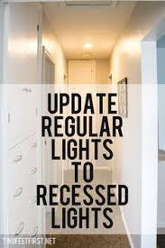 Recessed Lights In Kitchen Recessed Lighting Totally Want To Do This To Get Rid Of The Ugly