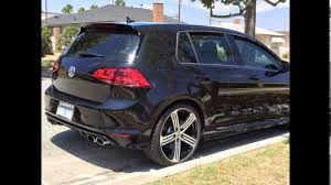 gti volkswagen 2016 2016 volkswagen golf gti deep black pearl youtube