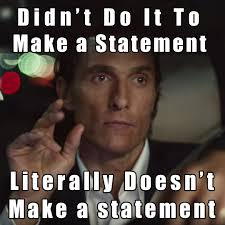 Matthew Mcconaughey Meme - the new matthew mcconaughey lincoln commercials are an abomination
