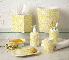 Gray Bathroom Sets - an overview of yellow bathroom accessories bath decors