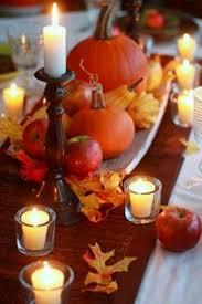 centros de mesa para otoño fáciles decoración thanksgiving