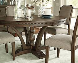 Larrenton Table And Base Ashley Furniture HomeStore - Wood dining room table