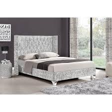 Velvet Bed Frame Drogo Velvet Bed Frame Next Day Select Day Delivery