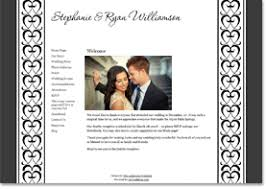marriage invitation websites wedding websites matching invitations from the american wedding
