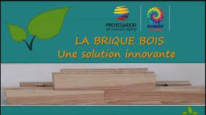 soubassement bois kit la brique bois une solution innovante youtube