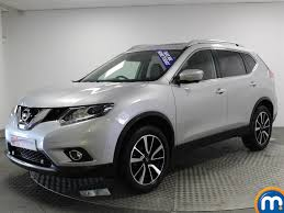 used nissan x trail tekna grey cars for sale motors co uk