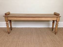 Antique Hall Bench A Victorian Oak Window Seat Or Hall Bench C1860 231575