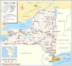 State And County Maps Of State And County Maps Of New York Inside Map Of Ny