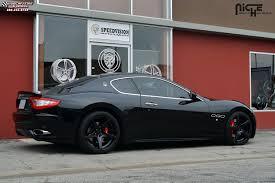 matte maserati quattroporte maserati quattroporte niche gt 5 m133 wheels satin black