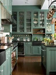 green base cabinets in kitchen eye for design how to create a trendy green kitchen