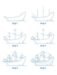 how to draw mayflower ship hellokids com