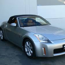 nissan 350z price australia nissan 350z convertible top 04 09 in blue stayfast cloth with